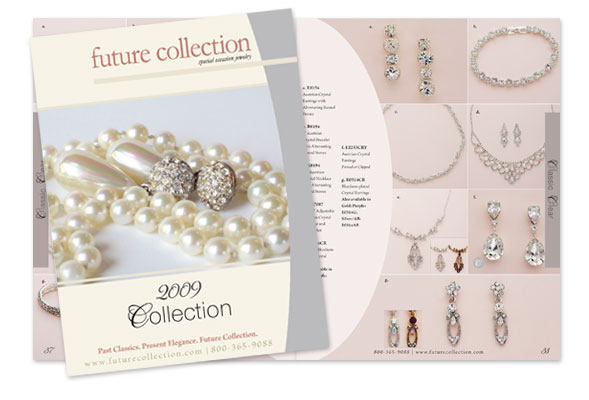future collection s 2009 jewelry catalog carolyn sheltraw graphic
